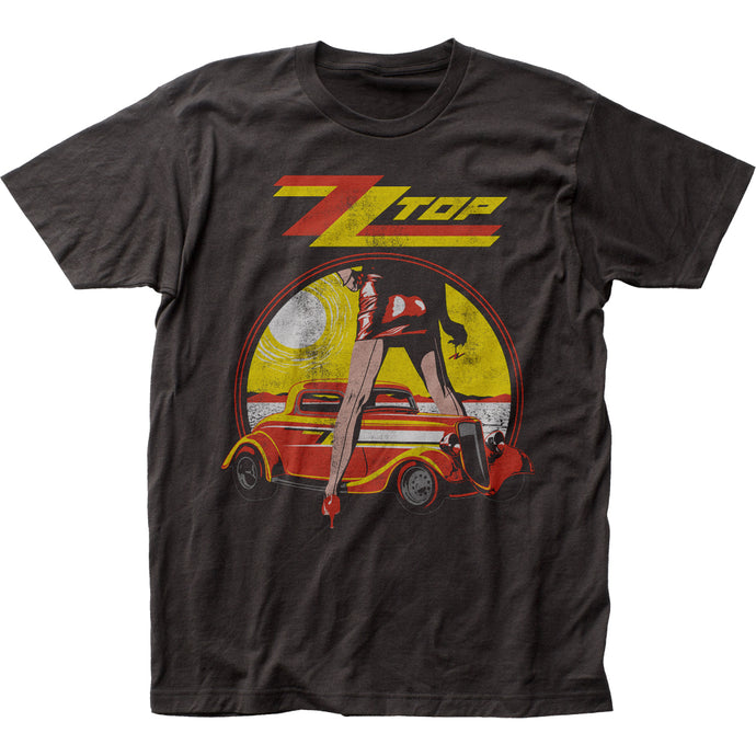 ZZ Top Legs Mens T Shirt Black