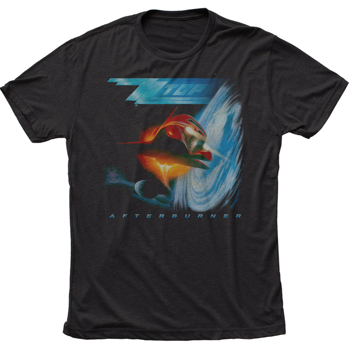 ZZ Top Afterburner Mens T Shirt Black