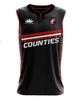 Counties Supporters Basketball Singlet