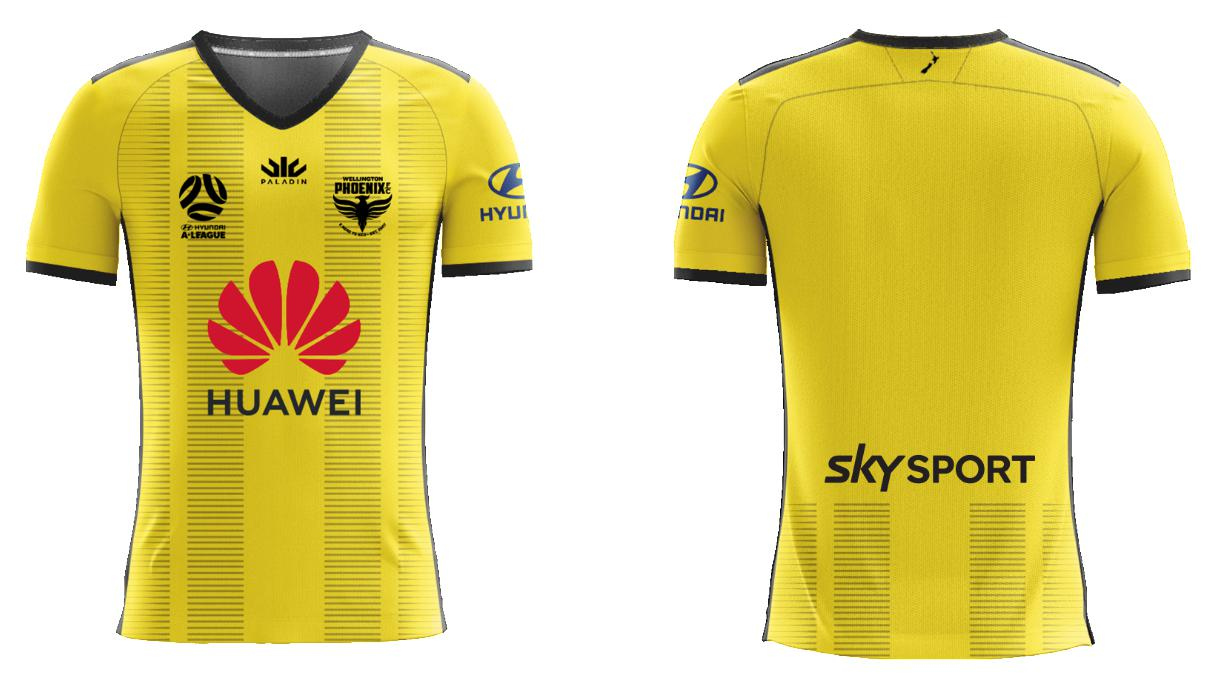 Wellington Phoenix Junior A-League Replica Home Jersey