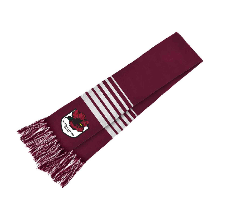 North Harbour Mitre 10 Scarf