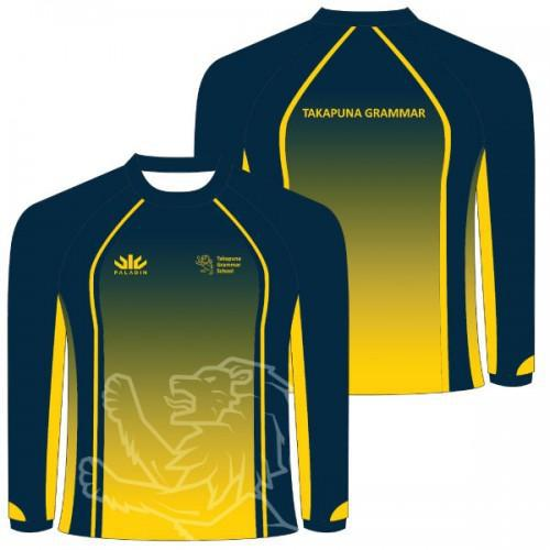 Takapuna Grammar - Long Sleeve Training Tee Girls