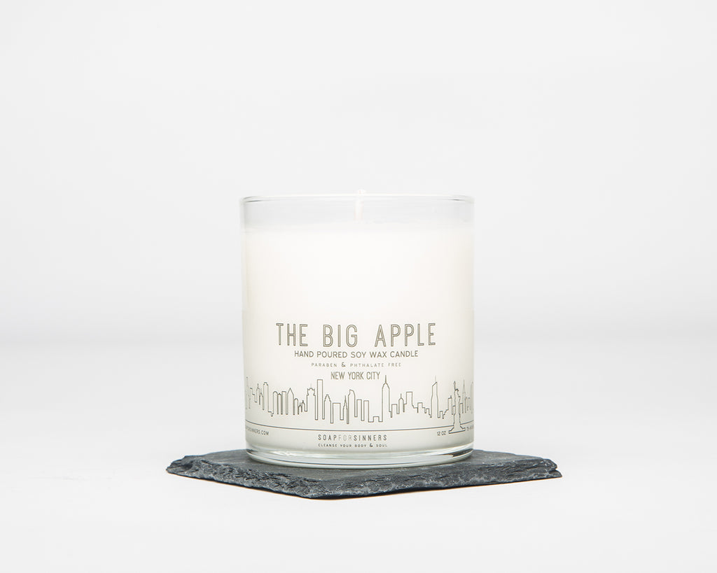 Big Apple Soy Wax Candle 12oz