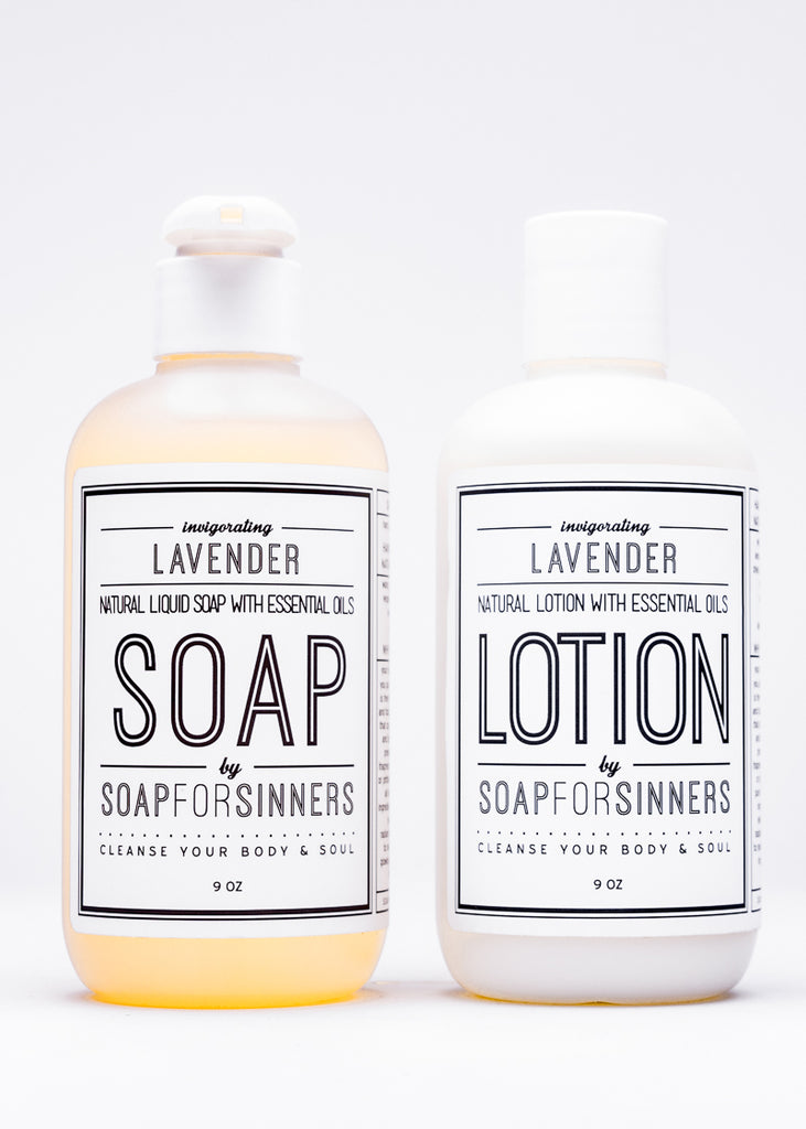 Liquid Soap + Lotion