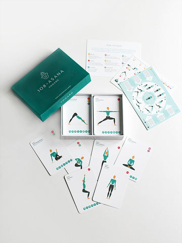 Yogaru 108 Asana Yoga Sequencing Cards
