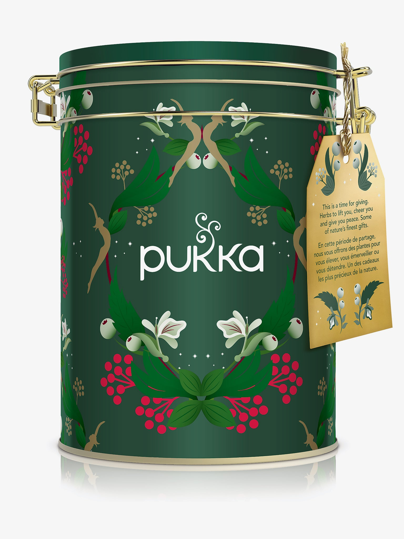 Pukka Festive Collection Kilner Jar