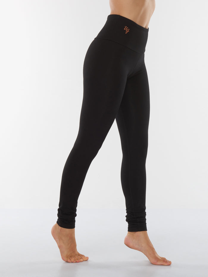Urban Goddess Satya Yoga Leggings - Urban Black