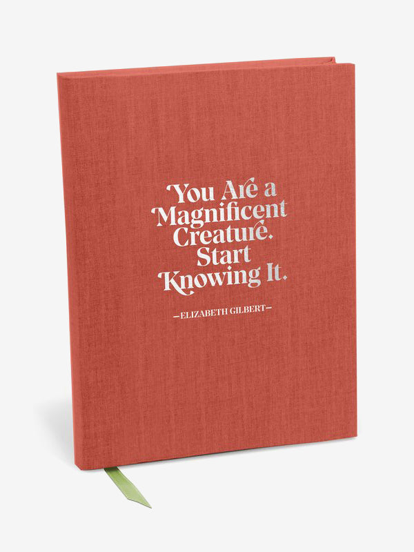 Elizabeth Gilbert Magnificent Creature Journal