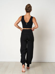 Gossypium Aspire Harem Pants - Black