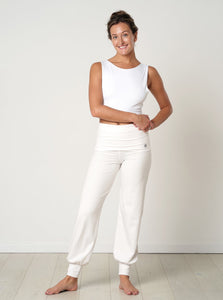 Gossypium Aspire Harem Pants - Natural