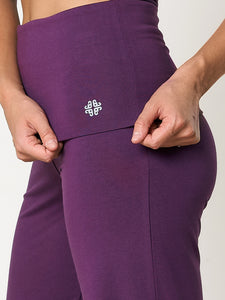 Gossypium Aspire Harem Pants - Grape