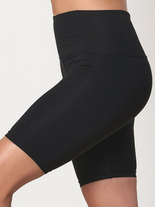 Gossypium Rhythm Yoga Shorts - Black