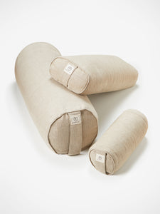 Yogamatters Hemp Mini Buckwheat Bolster