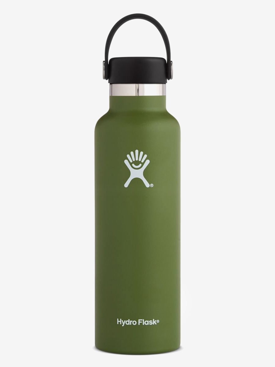 Hydro Flask 620ml Standard Mouth with Flex Cap - Olive