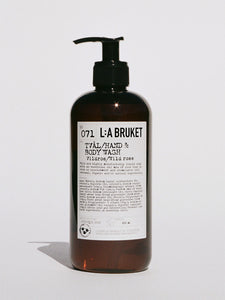 L:A Bruket Hand and Body Wash 450ml - Wild Rose