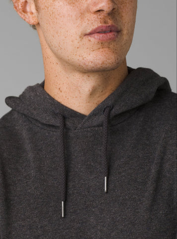 PrAna Kaola Hooded Sweater - Charcoal