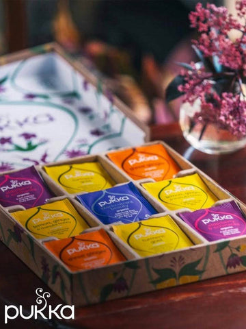 Pukka Wellbeing Tea Selection Box - Immunity