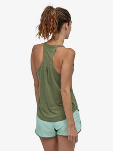 Patagonia Cap Cool Trail Tank - Camp Green