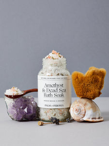 Palm of Feronia Amethyst & Dead Sea Bath Soak
