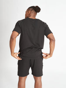 Yogamatters Eco Short Sleeve Yoga T-Shirt - Black