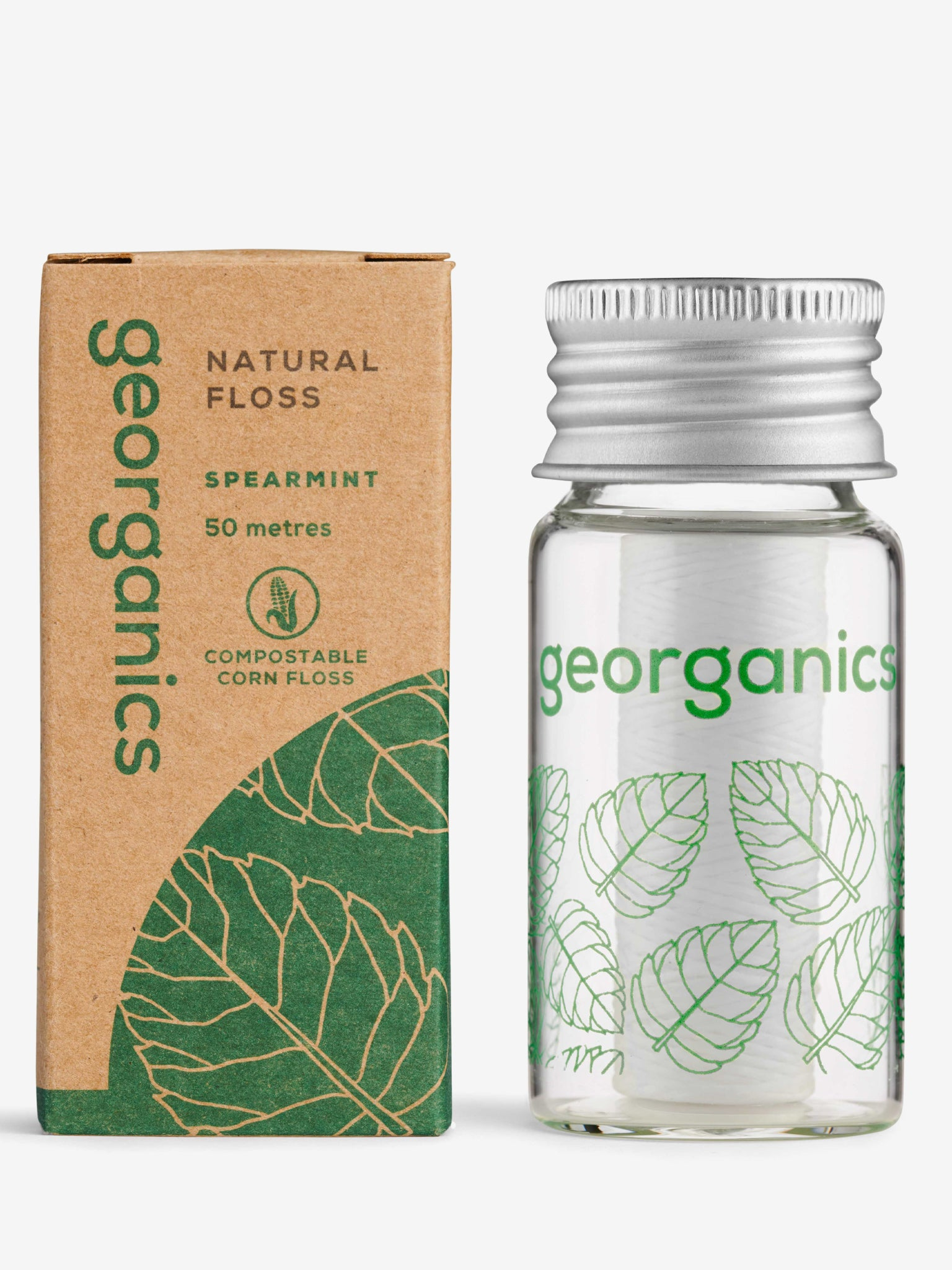 Georganics Natural Dental Floss - Spearmint