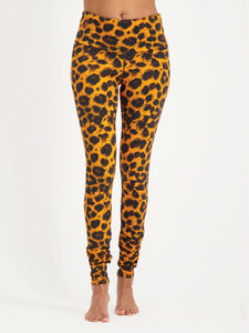 Urban Goddess Satya Yoga Leggings - Leopard