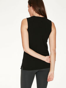 Thought Bamboo Base Layer Singlet - Black