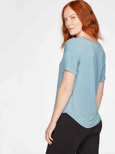 Thought Eliza Seacell Tee - Duck Egg Blue