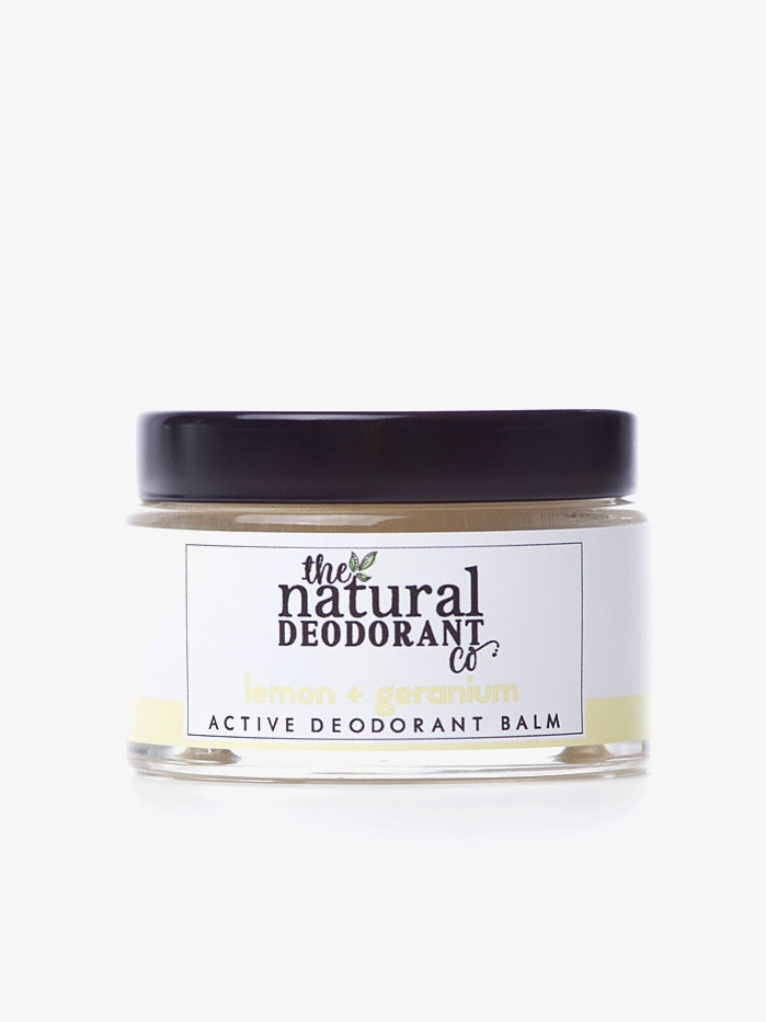 Natural Deodorant Co 55g Clean Deodorant Balm - Lemon + Geranium