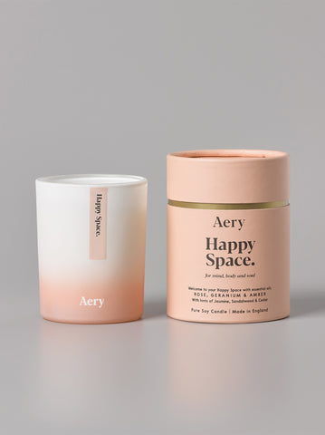 Aery Aromatherapy Candle - Happy Space