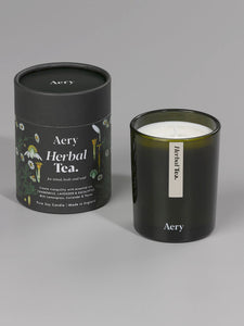 Aery Botanical Green Candle - Herbal Tea