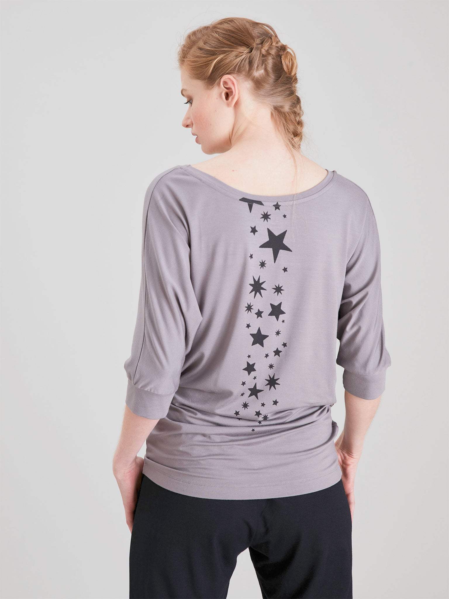 Asquith Be Grace Batwing - Grey Mist