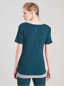 Asquith Bend It Tee - Forest