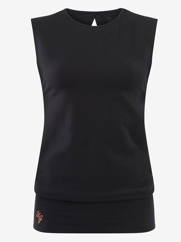 Urban Goddess Bhav Top - Urban Black
