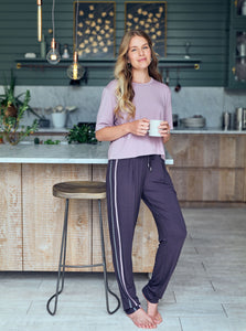 Asquith Drawstring Pants - Pebble