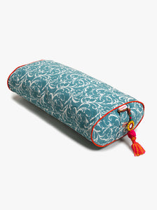 Chattra Oval Bolster Sky Feather