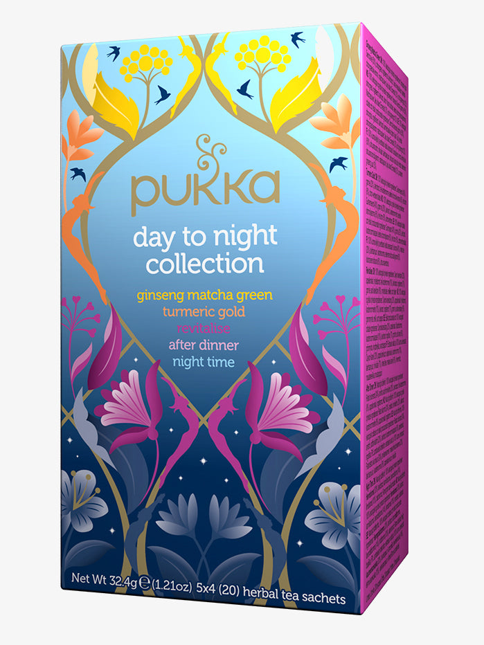 Pukka Day to Night Tea Collection