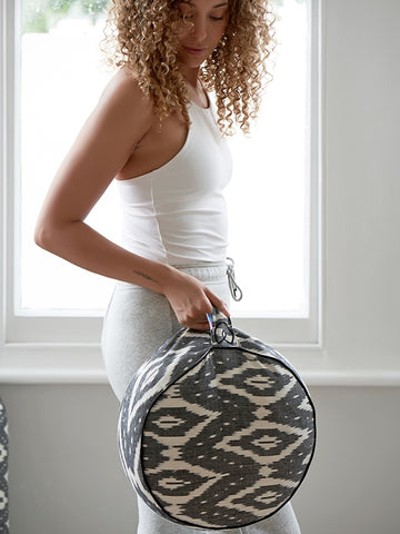 Yogamatters Ikat Round Meditation Cushion