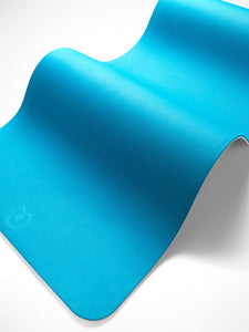 Yogamatters Wellness Mat - Ocean Green & Cool Grey