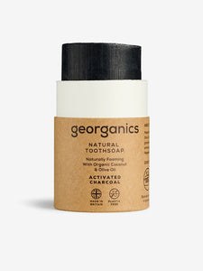 Georganics Natural Toothsoap - Activated Charcoal
