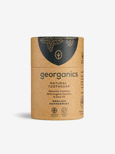 Georganics Natural Toothsoap - English Peppermint