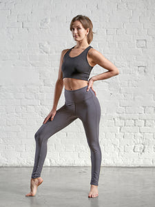 Gossypium Power Leggings - Antique Grey