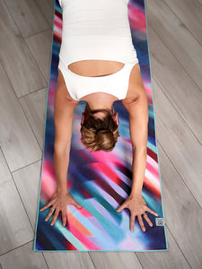 Yogamatters Grippy Yoga Mat Towel - Cosmic Colour