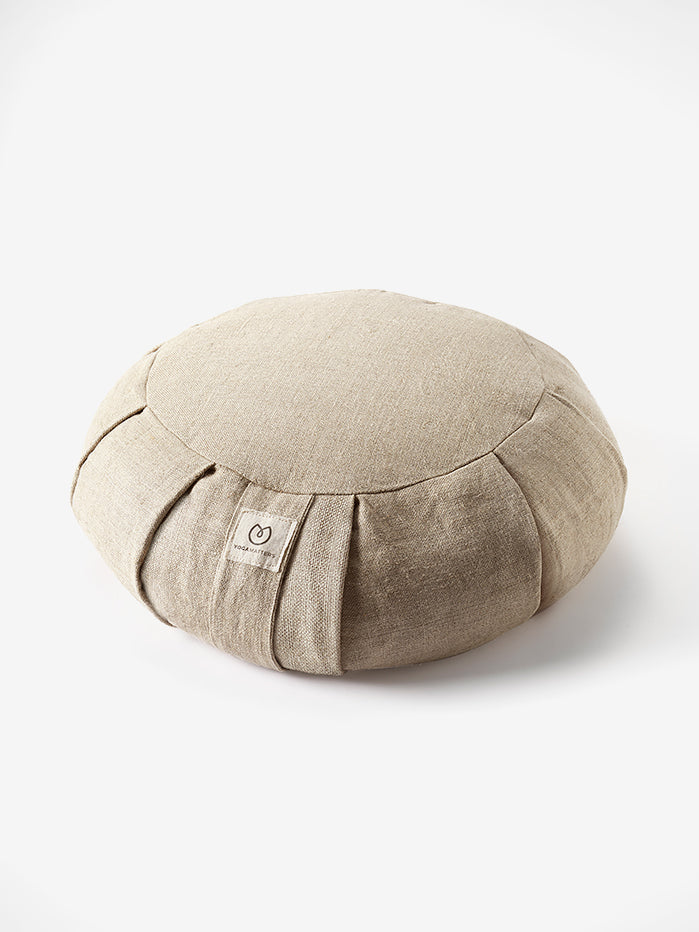 Yogamatters Hemp Buckwheat Zafu Meditation Cushion