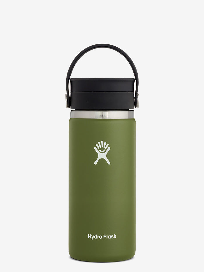 Hydro Flask 475ml Wide Mouth w/Flex Sip Lid - Olive