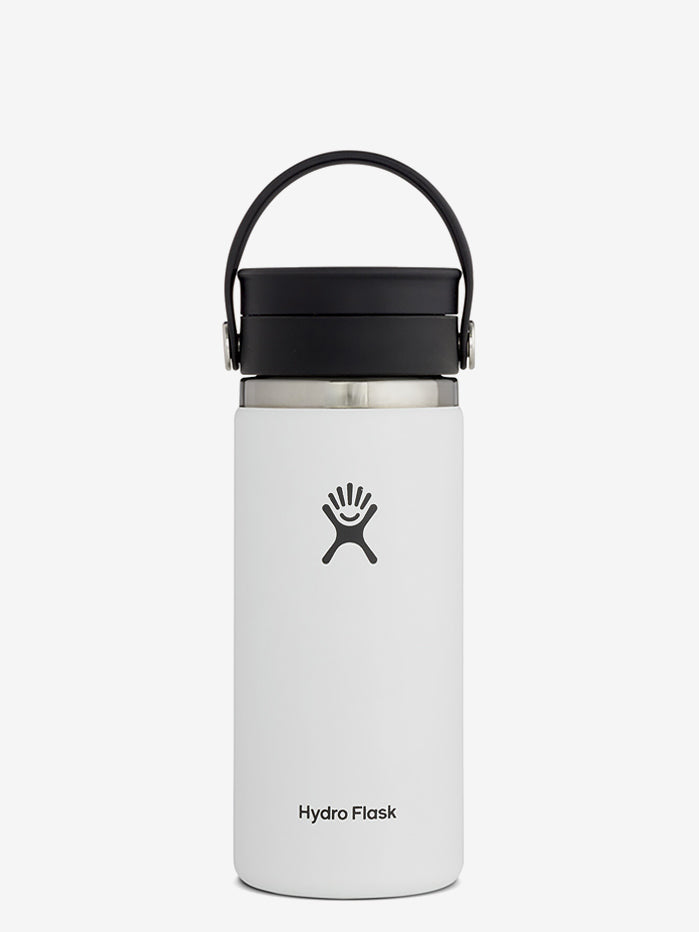 Hydro Flask 475ml Wide Mouth w/Flex Sip Lid - White