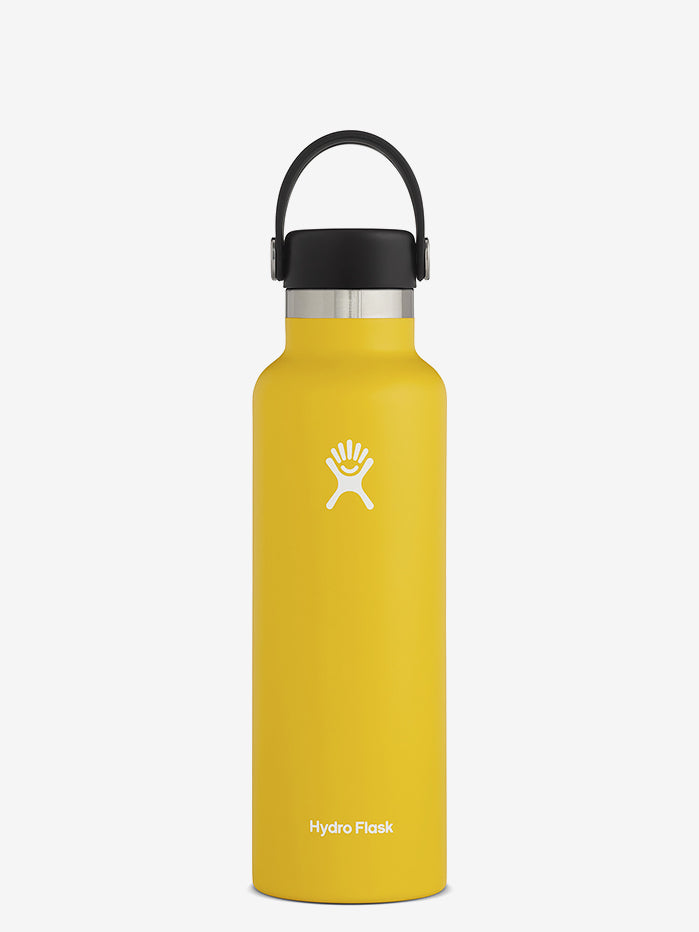 Hydro Flask 620ml Standard Mouth with Flex Cap - Sunflower