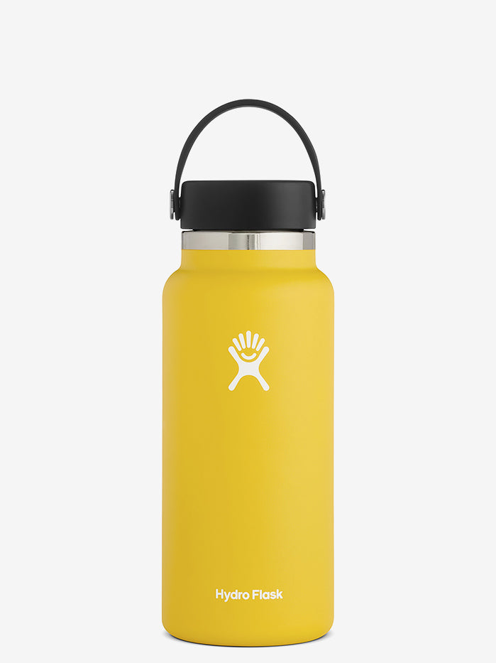 Hydro Flask 945ml Wide Mouth with Flex Cap 2.0 - Sunflower