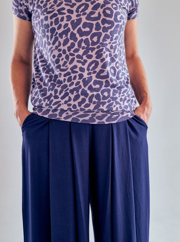 Asquith Smooth You Tee - Leopard