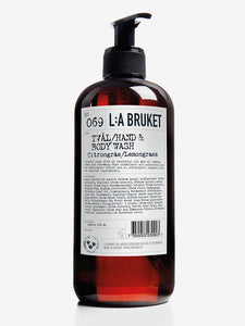 L:a Bruket Hand and Body Wash 450ml - Lemongrass